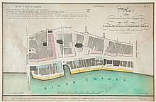 Peacock (James) - Plan of the Proposed Improvements at the Legal Quays and in Thames Street,
