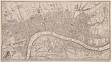 [Rocque (John)] - A Correct Plan of the Cities of London & Westminster & Borough of...