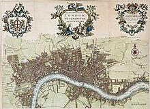 Strype (John) - A New Plan of the City of London, Westminster, and Southwark,