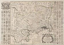 -. Seale (Richard William) - Map of the County of Middlesex,