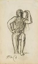 Pierre Puvis de Chavannes (1824-1898) - Classical figure study