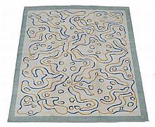 A woven carpet, second half 20th century, approximately 447cm x 339cm