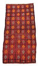 A Moroccan rug, approx. 275cm x 130cm