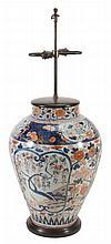 A large Japanese Arita Vase, late 17th century