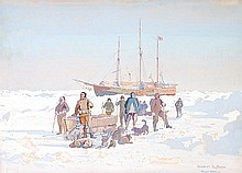 δ Herbert Kerr Rooke (1872-1944). Nansen and