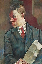 δ James Cowie (1886-1956). Portrait of a
