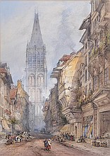 Thomas Colman Dibdin (1810-1893). Belfry Tower,