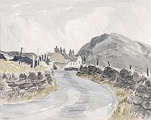 δ Sir Kyffin Williams R.A. (1918-2006). Above