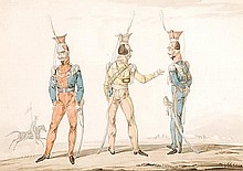 Noel-Dieudonne Finart (1797-1852). Uniforms of the