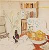 δ Enslin Du Plessis (1894-1978). Still life.