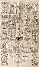 Immanuel) Versuch, den Ursprung der Spielkarten , 2 parts in 1 vol