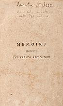 Memoirs Relating to the French Revolution, Horatio Nelson