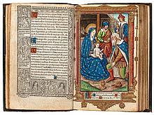 Book of Hours.- - Hore beate marie secundum usum Romanium,