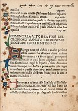 Saint. Vita el transito e gli Miracoli del Beatissimo Hieronymo..., 136 ff