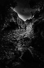 Simon Marsden (1948-2012) - Kitty's Steps, Lydford Gorge, Devon 1976; Trollers Gill, Appletreewick, Yorkshire, 1978