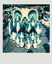 Walker Evans (1903-1975) - Untitled (Group of Virgin Mary and Jesus Lawn Ornaments), 1973
