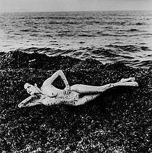 Helmut Newton (1920-2004) - Nude in Seaweed, Saint Tropez, 1991