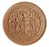 Royal Agricultural Society, Mansion House Committee 1879, bronze prize medal