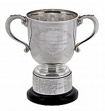 The Athlone Perpetual Challenge Cup, a silver twin handled trophy cup by...
