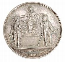 Scotland, Highland Society of Scotland, silver prize medal awarded 1829 to...