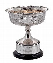 The Lenborough Perpetual Challenge Trophy, an electro-plated comport