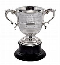 The Robinson Perpetual Challenge Trophy, a silver twin handled trophy cup by...