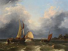 Edward Williams (1782-1855) - Dutch fishing vessels