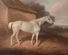 David Dalby (1780-1849) - Portrait of a Grey