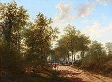 Thomas Baker (1809-1864) - Thro-the wood