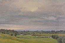 Alfred Parsons (1847-1920) - Extensive river landscape