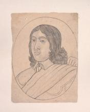 A Mughal drawing of a Dutch Nobleman, Northern India, 18th century or later