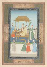 An Indian painting , painted on both sides