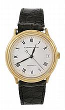 Audemars Piguet, a gentleman's 18 carat gold