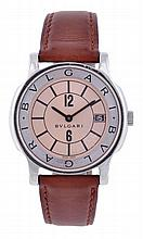 Bulgari, Solotempo, a gentleman's stainless steel
