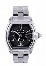 Cartier, Roadster, a gentleman's stainless steel
