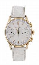 Zenith, a gentleman's 18 carat gold chronograph