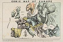 [Hadol (Paul)] - Comic Map of Europe,