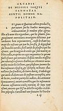 Sannazaro (Jacopo) - L'Arcadie,