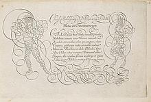 Calligraphy.- Van der Velde (Jan) - Spieghel der Schrijfkonste,