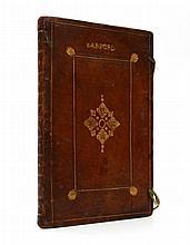 Norfolk, Barford.- - Berford in Comitatu Norff, manuscript terrier in Latin, 94pp