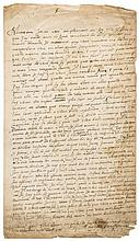 French diplomat in Elizabethan England.- - Letter signed