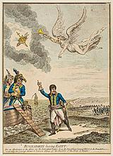Gillray (James) - The State of War _ or _ the Monkey-Race in danger,