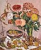 DDS Stanley Grimm R.O.I. (1891-1966) Chrysanthemums