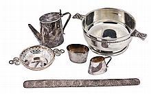 A silver taster by Synyer & Beddoes, Birmingham 1911