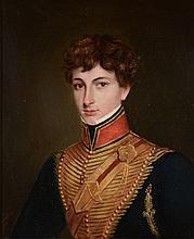 Jivan Ram, Raja (fl. 1825-1840) - Portrait of Lieutenant Jasper Trower, of the Bengal Horse Artillery