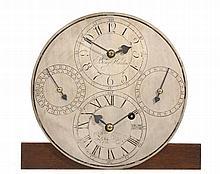 A very rare Regency mill timepiece movement Benjamin Harlow, Lane End