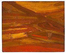 Anthony Benjamin (1931-2002) - Untitled (Sunlit Hillside)