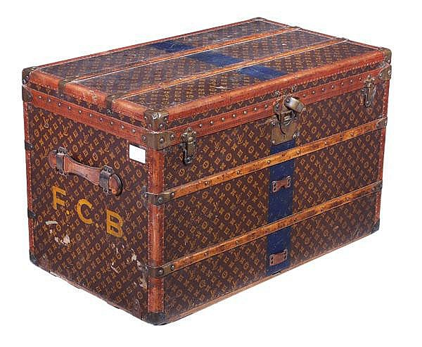 Louis Vuitton, a monogram canvas and wood lady's