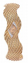 Rolex, Precision, a lady's 18 carat gold