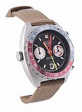 Heuer, Autavia GMT Chronograph, a gentleman's